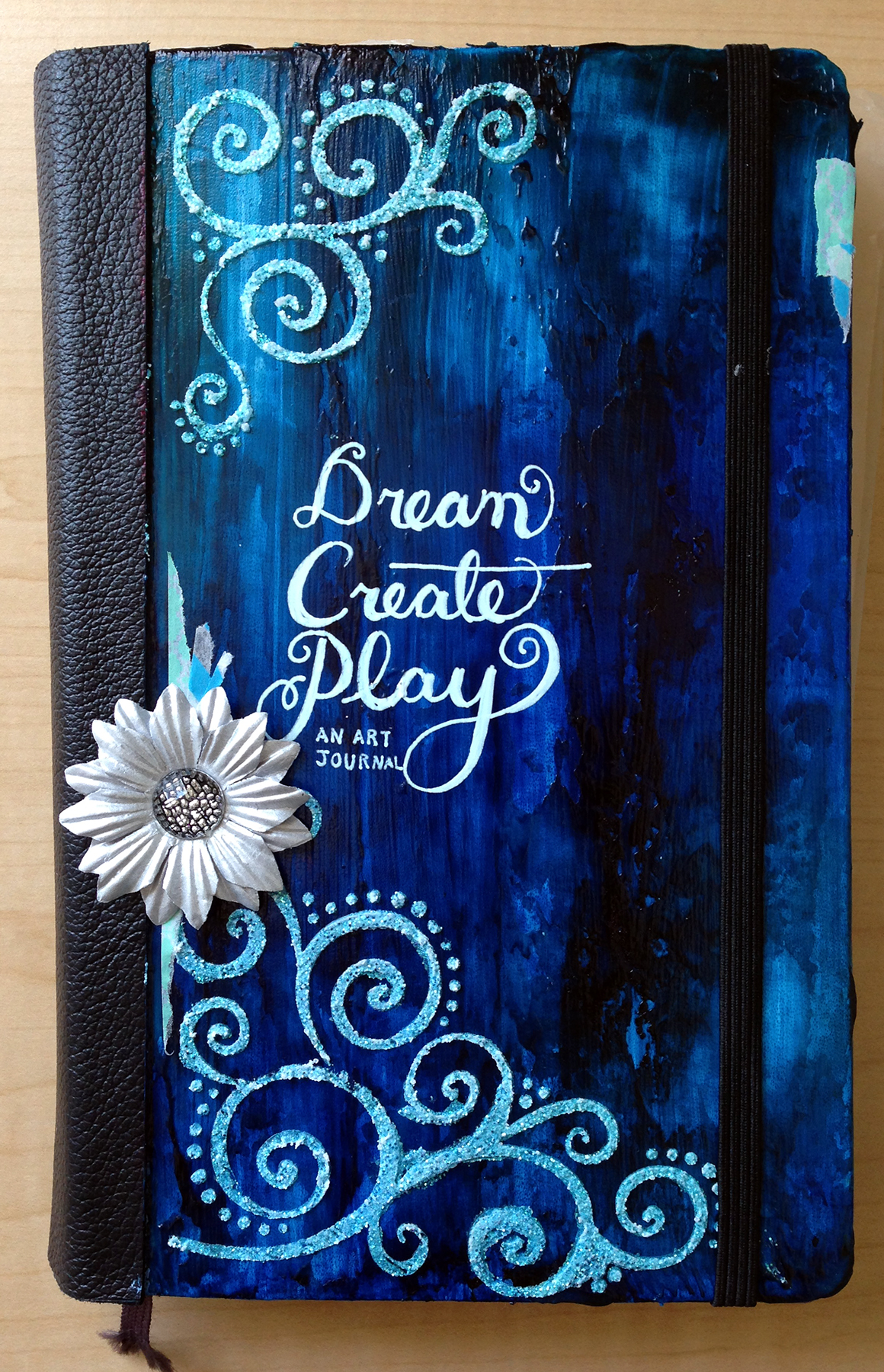 Moleskine Art Journal Cover Dream Create Play Odyssey Art