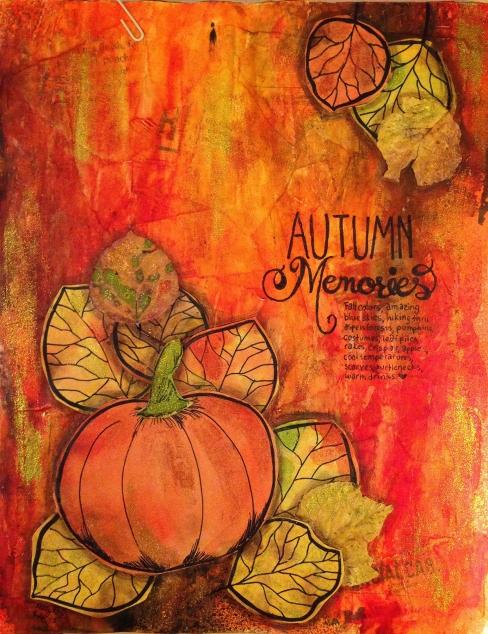 #lovefallart, autumn memories
